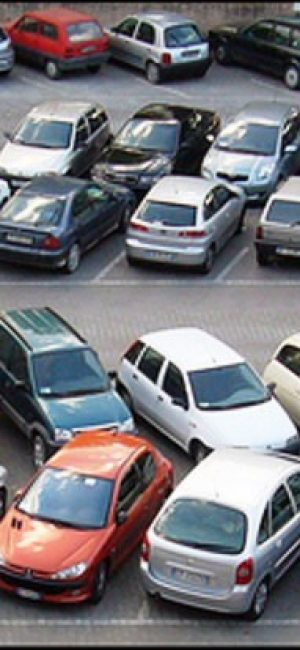 Estacionamiento al aire libre