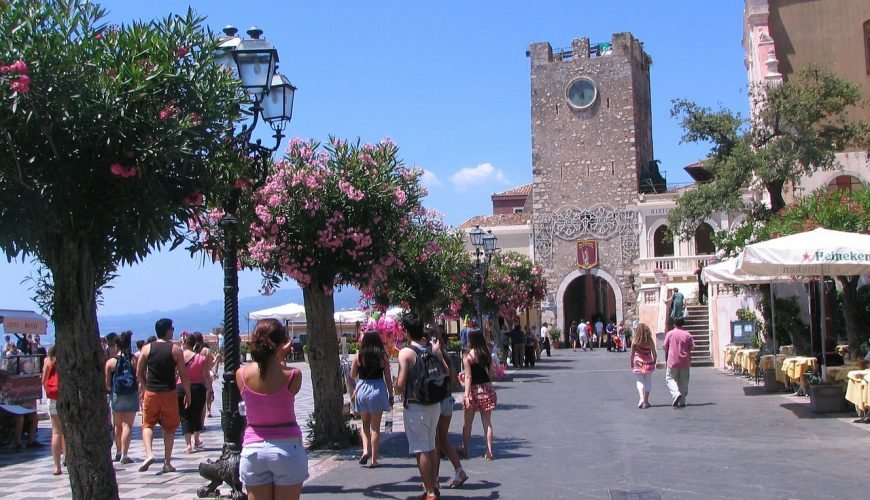 Taormina Historic Center