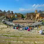Greek theater in Taormina
